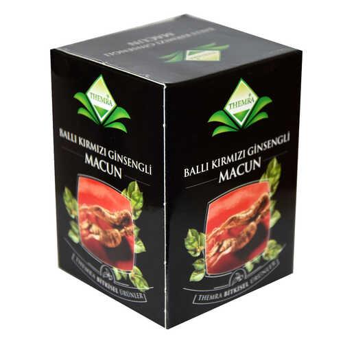 Ballı Kırmızı Ginsengli Macun Bitkisel Karışım 240 Gr