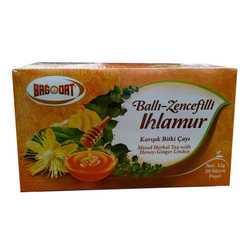 Ballı Zencefilli Ihlamurlu Karışık Bitki Çayı 20 Süzen Pşt - Thumbnail