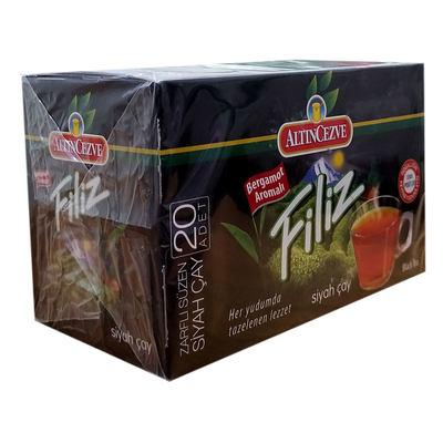 Bergamot Aromalı Siyah Çay 20 Süzen Pşt