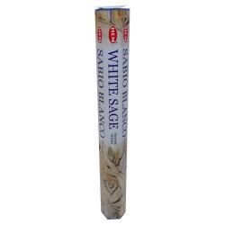 Beyaz Adaçayı Kokulu 20 Çubuk Tütsü - White Salvia - Thumbnail