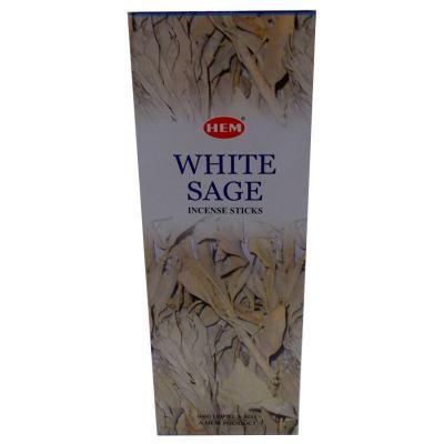 Beyaz Adaçayı Kokulu 20 Çubuk Tütsü - White Salvia