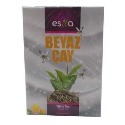 Beyaz Bitkisel Form Çayı 45 Süzen Poşet
