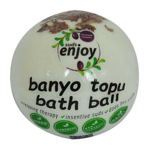 Beyaz Gül El Yapımı Banyo Bombası Banyo Topu Beyaz 90-120 Gr