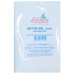 LokmanAVM - Beyaz Kil Öğütülmüş Doğal Saf Naturel 250 Gr Paket (1)