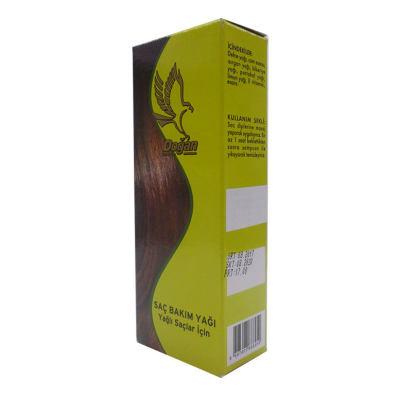 Bitkisel Yağ Yağlı Saçlara Cam Şişe 100 ML