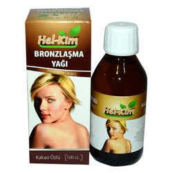 Hel-Kim - Bronzlaşma Yağı Doğal Kakao Yağı Özlü 100 cc (1)