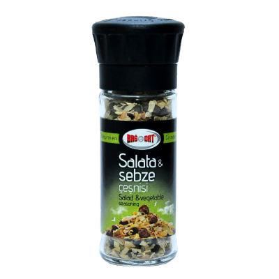 Cam Değirmenli Salata ve Sebze Çeşnisi Karışık Baharat 45 Gr