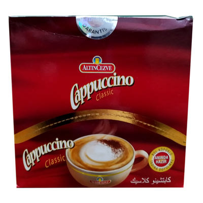 Cappuccino Classic Tek İçimlik İçecek Tozu 15 Gr X 20 Pkt