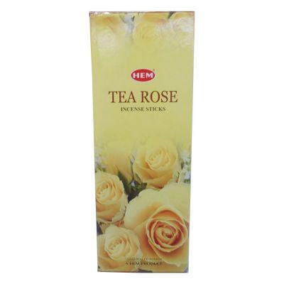 Çay Gülü Kokulu 20 Çubuk Tütsü - Tea Rose
