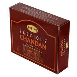 Chandan Değerli Mistik Kokulu 10 Konik Tütsü - Precious Chandan - Thumbnail