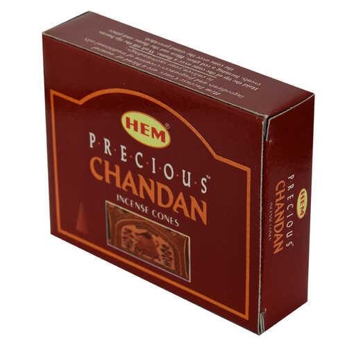 Chandan Değerli Mistik Kokulu 10 Konik Tütsü - Precious Chandan
