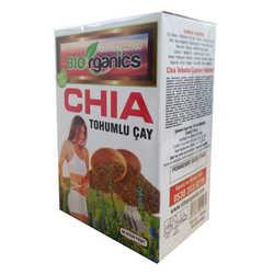 Biorganics - Chia Tohumlu Çay 60 Süzen Poşet Görseli