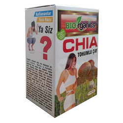 Chia Tohumlu Çay 60 Süzen Poşet - Thumbnail