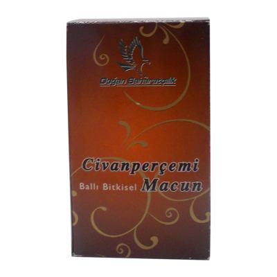 Civanperçemli Ballı Bitkisel Karışım Cam Kavanoz 450 Gr