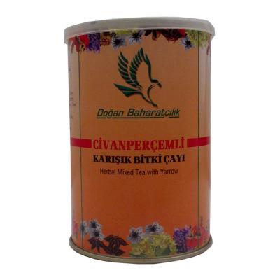 Civanperçemli Bitkisel Karışım Çay 100 Gr Teneke Kutu