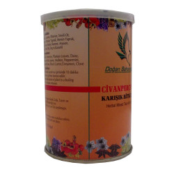 Civanperçemli Bitkisel Karışım Çay 100 Gr Teneke Kutu - Thumbnail