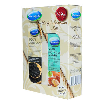 Çörek Otlu Şampuan 250 ML + Argan Yağlı Saç Maskesi 150 ML