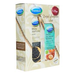 Çörek Otlu Şampuan 250 ML + Argan Yağlı Saç Maskesi 150 ML - Thumbnail