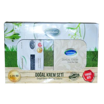 Çörek Otu Yağlı Vücut Bakım Seti - Krem & Peeling Sabunu