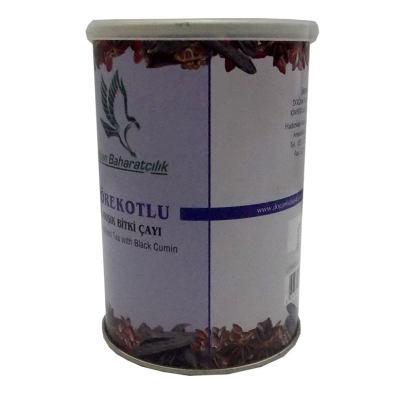 Çörekotlu Karışık Bitkisel Çay 100 Gr Teneke Kutu