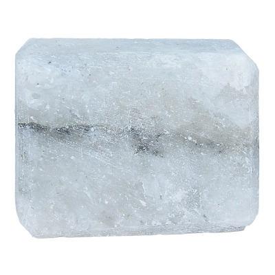 Dikdörtgen Şekilli Çankırı Doğal Kaya Tuzu Sabunu Beyaz 200-300 Gr