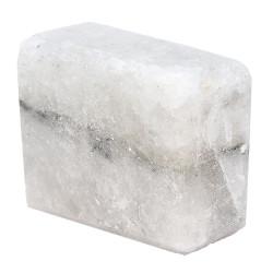 Dikdörtgen Şekilli Çankırı Doğal Kaya Tuzu Sabunu Beyaz 200-300 Gr - Thumbnail