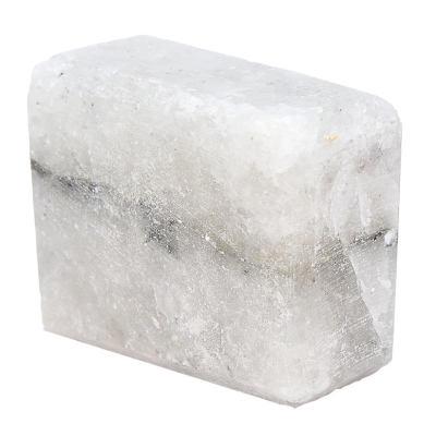 Dikdörtgen Şekilli Çankırı Kaya Tuzu Sabunu Pembe 200-300 Gr