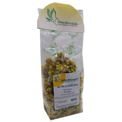 Doğal Altın Otu Çiçeği Ölmez Çiçek 25 Gr Paket