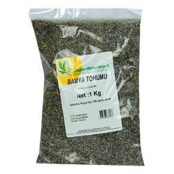 Doğal Bamya Tohumu 1000 Gr Paket - Thumbnail