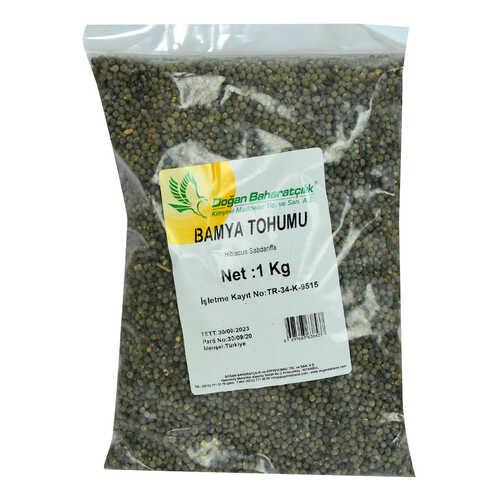 Doğal Bamya Tohumu 1000 Gr Paket