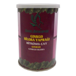 Doğal Ginkgo Biloba Yaprağı 100 Gr Teneke Kutu - Thumbnail