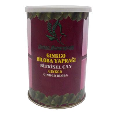Doğal Ginkgo Biloba Yaprağı 100 Gr Teneke Kutu