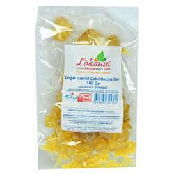 Doğal Granül Çakıl Reçine Sarı 100 Gr Paket - Thumbnail