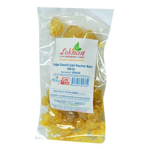 Doğal Granül Çakıl Reçine Sarı 100 Gr Paket