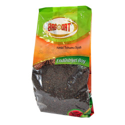 Bağdat Baharat - Doğal Hardal Tohumu Siyah Tane 1000 Gr Paket Görseli