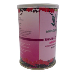 Doğal Hibiskus Bamya Çiçeği 100 Gr Teneke Kutu - Thumbnail