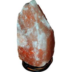 Doğal Himalaya Kaya Tuzu Lambası Kablolu Ampullü Pembe 12-14 Kg - Thumbnail