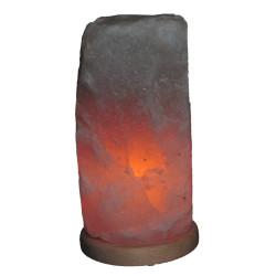 Doğal Himalaya Tuz Lamba Kablolu Ampullü Beyaz 6-8 Kg - Thumbnail