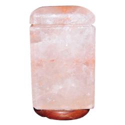 LokmanAVM - Doğal Himalaya Tuz Lambası Dikdörtgen Kablolu Ampullü 3-4 Kg (1)