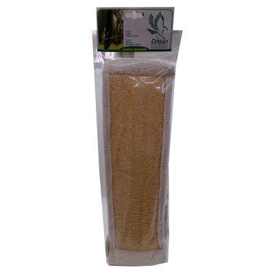 Doğal Kabak Lifi Uzun Sırt ve Vücut Kesesi 10 x 40