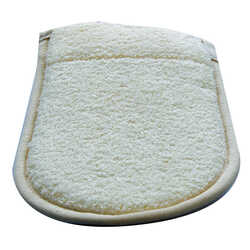 Nascita - Doğal Kabak Lifli Banyo Duş Eldiveni Kese 15x25 Cm Görseli