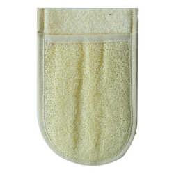 Doğal Kabak Lifli Banyo Duş Eldiveni Kese 15x25 Cm - Thumbnail