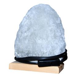 Doğal Kaya Tuzu Lambası Çankırı Kablolu Ampullü Beyaz 2-3 Kg - Thumbnail
