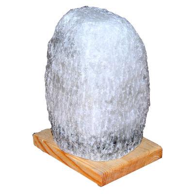 Doğal Kaya Tuzu Lambası Çankırı Kablolu Ampullü Beyaz 3-4 Kg