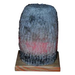 Doğal Kaya Tuzu Lambası Çankırı Kablolu Ampullü Beyaz 3-4 Kg - Thumbnail