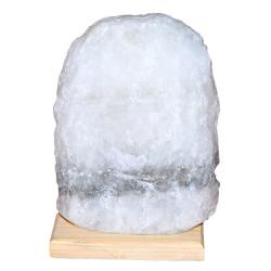LokmanAVM - Doğal Kaya Tuzu Lambası Çankırı Kablolu Ampullü Beyaz 4-5 Kg (1)