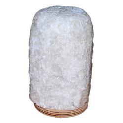 LokmanAVM - Doğal Kaya Tuzu Lambası Çankırı Kablolu Ampullü Beyaz 5-6 Kg Görseli