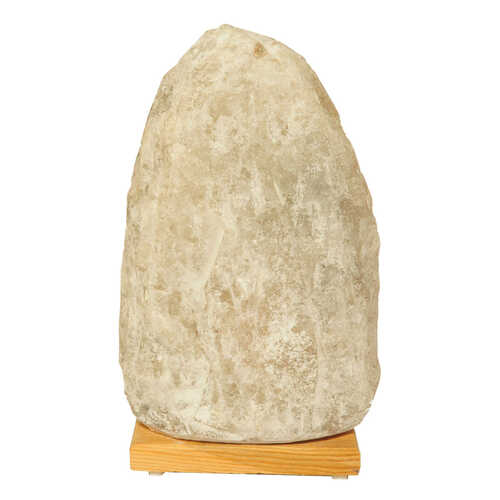 Doğal Kaya Tuzu Lambası Çankırı Kablolu Ampullü Beyaz 7-8 Kg