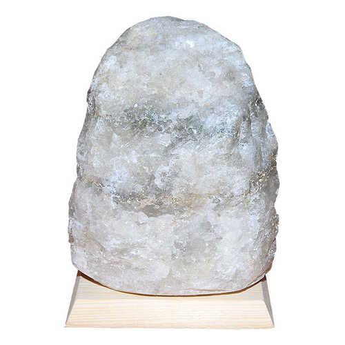 Doğal Kaya Tuzu Lambası Kırşehir Kablolu Ampüllü Beyaz 2-3 Kg
