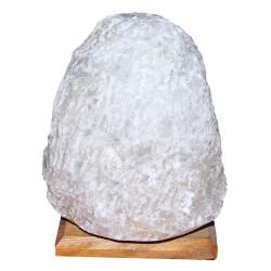 Doğal Kaya Tuzu Lambası Kırşehir Kablolu Ampullü Beyaz 4-5 Kg - Thumbnail